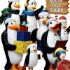 Figurer Dekorasjon Tema Penguins Madagaskar Christmas