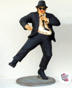Die Figuren tanzen Dekoration The Blues Brothers