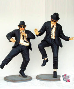 Figurene Dekor Dancing The Blues Brothers