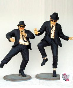 Figures Decoration Dancing The Blues Brothers