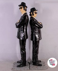 Figure Decorazione The Blues Brothers Espaldas