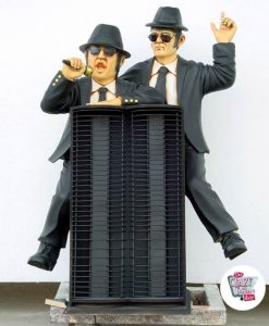 Şekil Dekorasyon Blues Brothers CD Tutucu