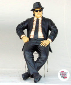 Tal Dekoration The Blues Brothers Sitting