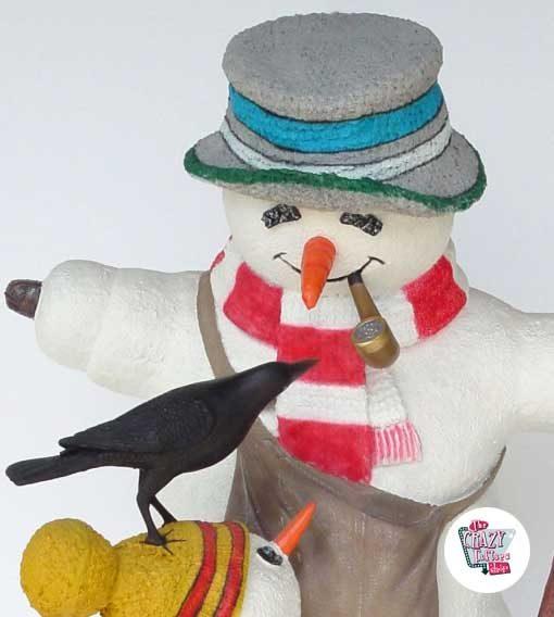 Figuras Decoración Navidad Muñecos de Nieve
