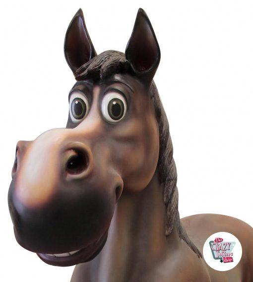Figura Cavalo temático com decoração