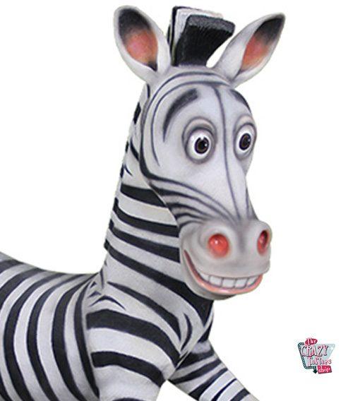 Figura Decoração Tema Madagascar Zebra Marty