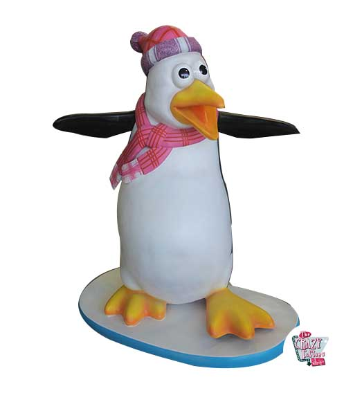 Figurer Dekoration Tema Penguins Comic