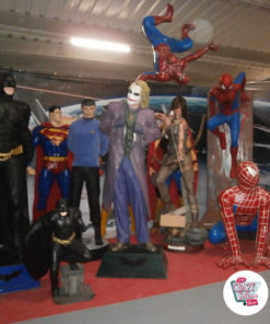 Figures decoration Various Super Heroes Spider man