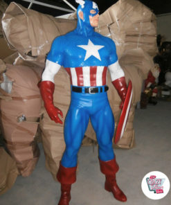 Figures decoration Various Super Heroes Captain America