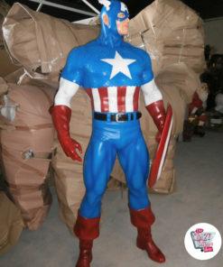 Figurer dekoration Diverse Super Heroes Captain America