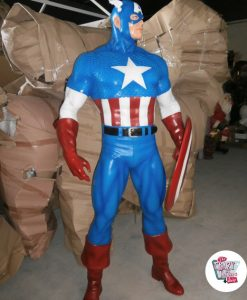 Figure decorazione Vari Supereroi Capitan America