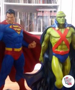 Figurer dekoration Diverse Super Heroes Superman med Martian Manhunter