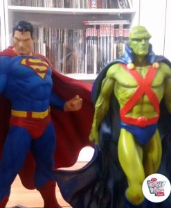 Figure decorazione Vari Supereroi Superman con Martian Manhunter