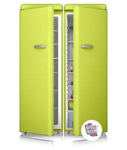 Congelador vintage doble Puerta