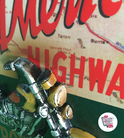 Guarda llaves Route 66 Harley Davidson