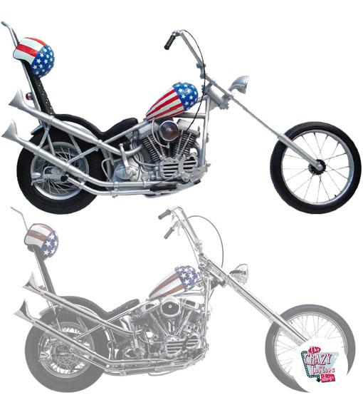 Captain America Harley Davidson