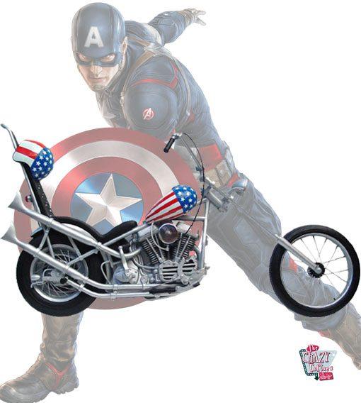 Harley Davidson Capitán America