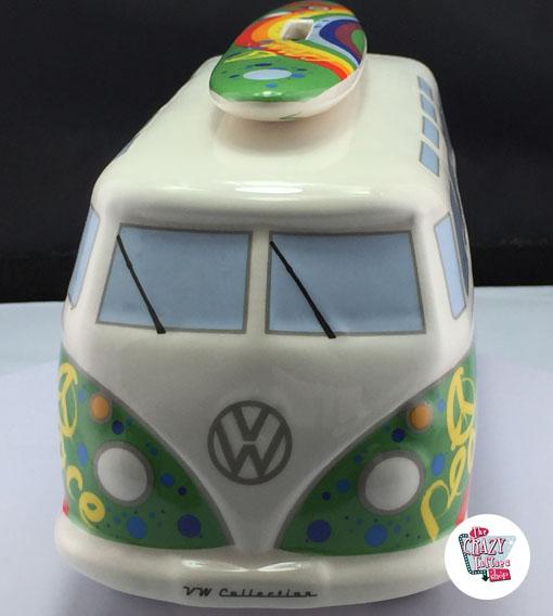Hucha Retro VW T1 Furgoneta Hippy