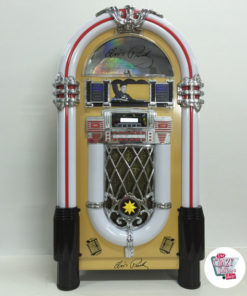 L'oro al neon Jukebox Bluetooth Elvis