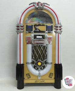 Elvis Neon Jukebox Bluetooth Gold