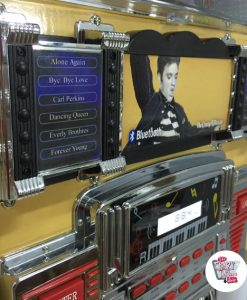 Jukebox Neon Bluetooth Elvis Gold