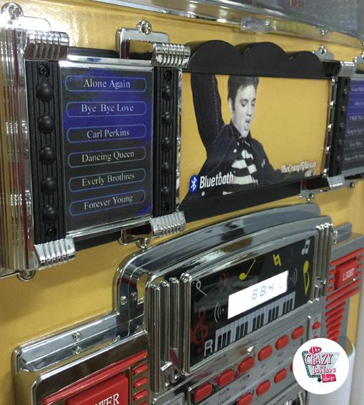 Neon Jukebox Bluetooth Elvis Gold