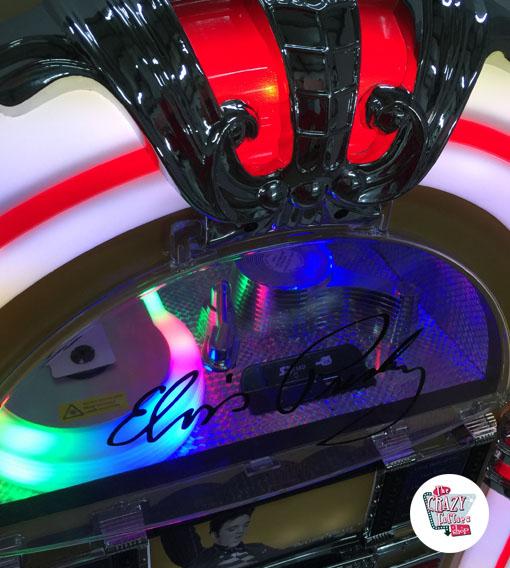 Gold Elvis Jukebox Bulb
