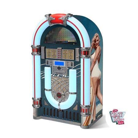 Jukebox Marylin Blue