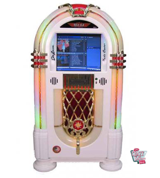 Rock-ola jukebox Nostalgic Music Center PV4 Deluxe