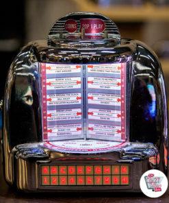 Jukebox Selector Diner Wallbox