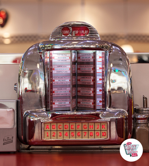 Jukebox Selector Diner Wallbox