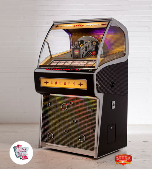 Vinyl Jukebox Rocket 88 Vente Jukebox Authentique