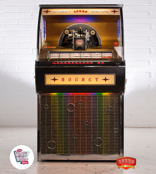 Venta Jukebox Rocket 88 Vinilo Autenticas Jukebox
