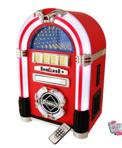 Jukebox Tabletop Red