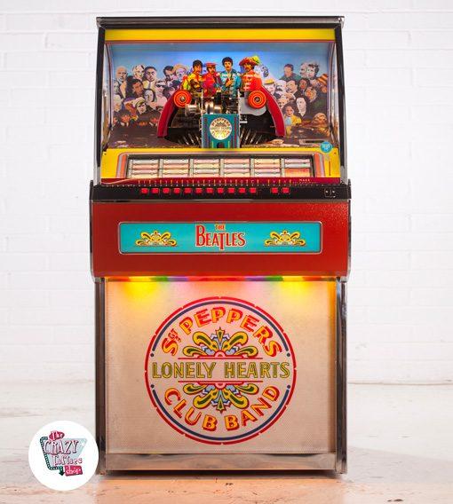 Jukebox Vinilo Sgt Pepper's