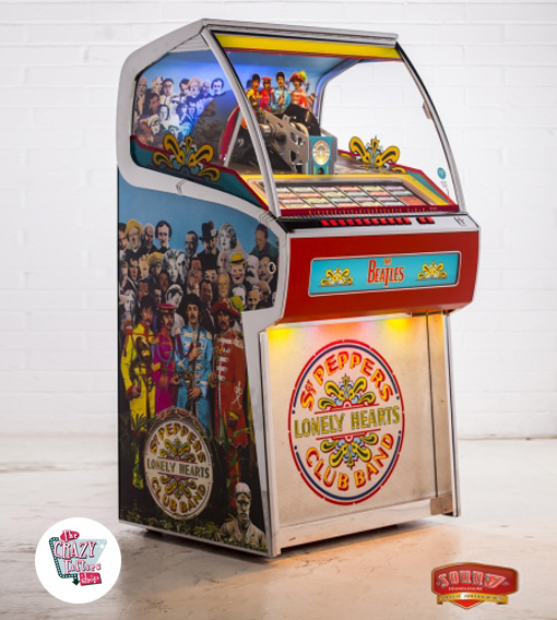 Jukebox Vinyl Sgt Pepper er