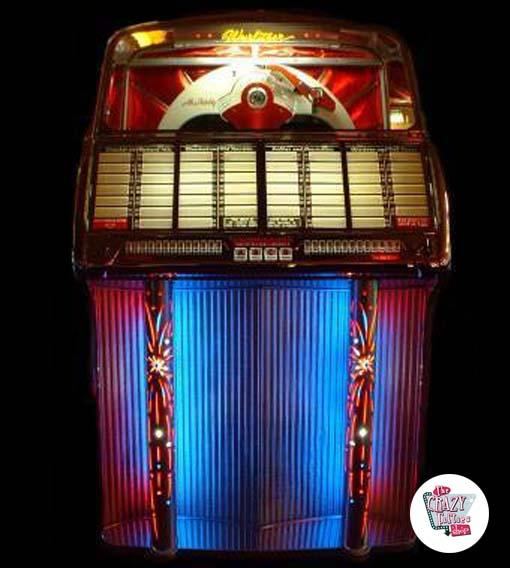 Tidssvarende Wurlitzer Jukebox 1800 salg Restaurada »Thecrazyfifties.es FM-47