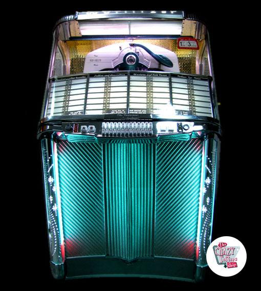 Frisk Wurlitzer Jukebox 1900 salg Restaurada »Thecrazyfifties.es CV-87