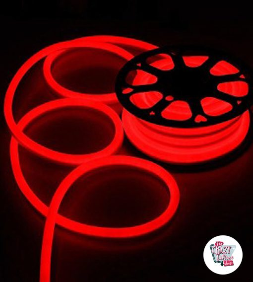 LED Neon Flex Rojo