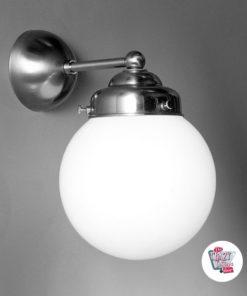Lámpara Pared Vintage Globo