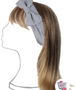 Cuisine Hair Bow Vintage