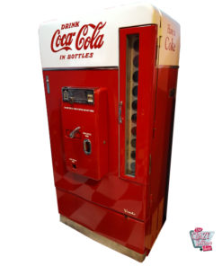 Original Refreshment Machine Vendo V110 Coca-Cola