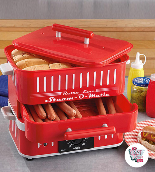 Máquina Hot Dog Steam-O-Matic