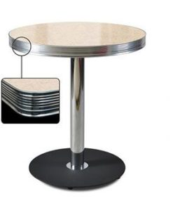 Round Table Retro Diner 70 Cream