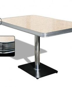 American Retro Diner table 120 Cream