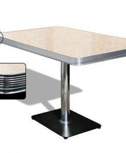 tavolo americano Retro Diner 120 Crema