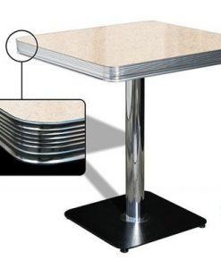 Table American Retro Diner 70 Cream