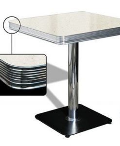 Table American Retro Diner 70 Blanc