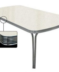 Retro dining table 205x106 White to28