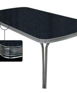 Dining table 205x106 Retro Black TO28
